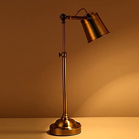 Vintage ferro Apprendimento personalizzato leggere la tabella degli occhi lampada