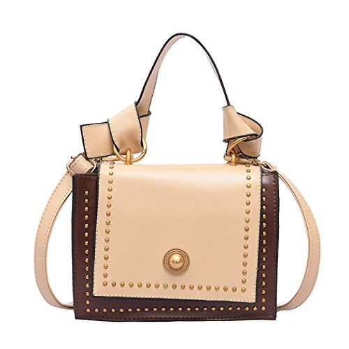 Simanli Designer-Handtaschen für Damen Branded Handtaschen New Look Crossbody Bag Kleine Schultertasche Handtaschen Gr. One size, gebrochenes weiß