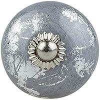 NEU Küchegriffe Möbelknopf Möbelgriffe Grau matt Griff Büro Komode Knopf