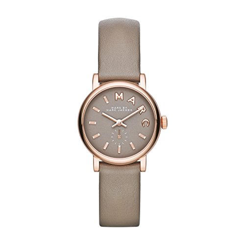 Frauen Vuitton Uhren Für Louis (Marc Jacobs Damen-Armbanduhr XS Analog Quarz Leder MBM1318)