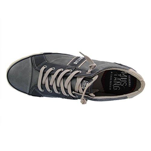 Mustang 4072-301-875, Sneakers Basses Homme Ciel