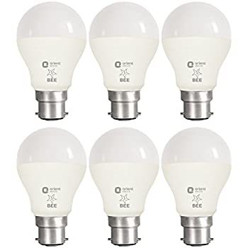 Orient Electric B22 7-Watt LED Bulb (Pack of 6, CDL White)