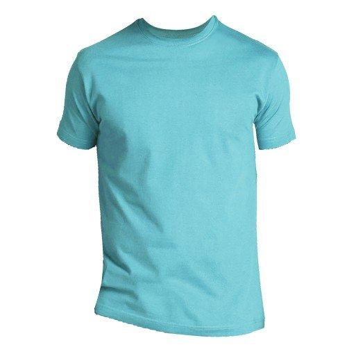 SOLS - Camiseta de manga corta para hombre 100% algodón grueso - Modelo Imperial (XXL/Azul turquesa)