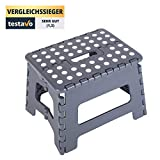 stylished® | Tritthocker 31 x 22 x 22 | aus sehr robustem Material | Extra...