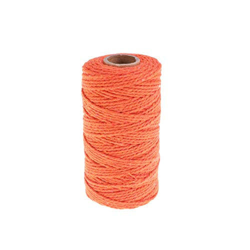 SUPVOX cable macramé 2 mm x 109 yardas cuerda macramé