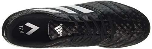 adidas Ace 17.4 Tf, Chaussures de Futsal Homme Noir (Core Black / Ftwr White / Night Metallic)