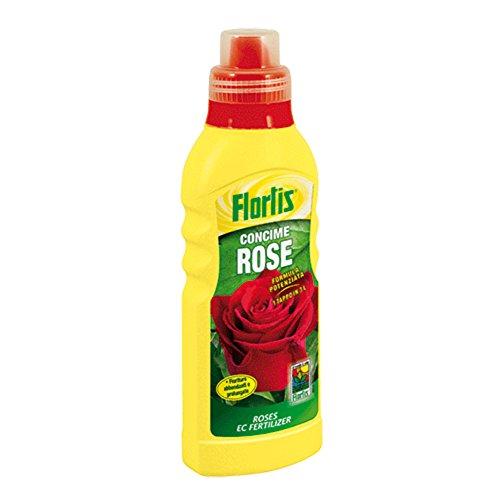Concime Liquido 'Rose' A Formula Potenziata. Prodotto Appositamente Studiato Per Un Nutrimento Equilibrato Delle Principali Specie Di Rose, In Modo Da Garantire Un Corretto Sviluppo Radicale E Fogliare Oltre Ad Abbondanti Fioriture. Previene Ingiallimenti