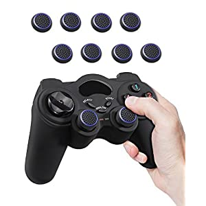 Fosmon (8 Pack) Silicone Thumb Grip Controller Analog Stick Joystick Kappe Kappen Dualshock Thumbsticks für Playstation PS4, PS3, Xbox One, Xbox 360, Nintendo WII Nunchuck & WII U