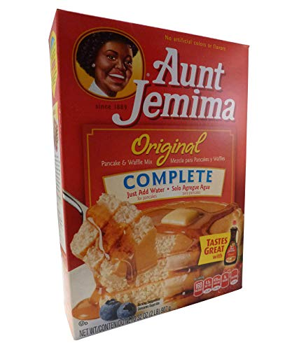 Quaker Oats Aunt Jemima Pancake Mix Complete, 1er Pack (1 x 907 g Packung)
