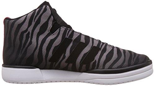 adidas Veritas Mid, sneaker homme Zébré Noir et Blanc