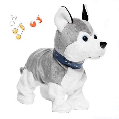 Interaktive Pet Elektronische Puppy Plüsch Walking Hund Cute Robot Hund Baby Spielzeug Sound Control Tier Hund Spielzeug Kleinkind Kinder Mädchen -