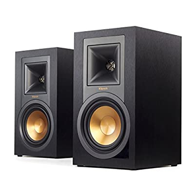 """Klipsch R-15PM Black loudspeaker - loudspeakers (DJ, Floor, Tabletop/bookshelf, 2.54 cm (1""""), 13.3 cm (5.25""""), 2.54 cm, 13.3 cm) occasione - Polaris Audio Hi Fi"""