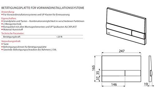 WC Vorwandelement für Trockenbau 120 cm inklusive Betätigungsplatte Schwarz/ Schwarz Unterputzspülkasten Spülkasten Wand WC hängend Schallschutz