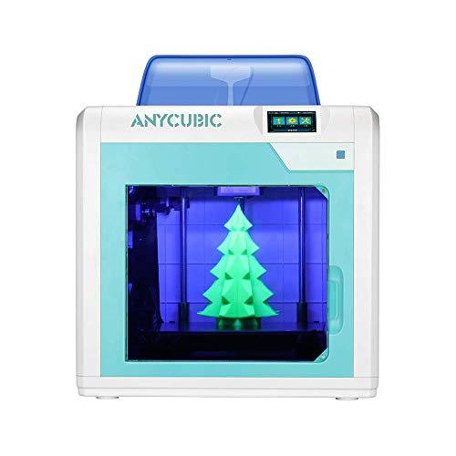 ANYCUBIC 4Max Pro Impresora 3D Pantalla Táctil, con plataforma Ultrabase, Tamaño de impresión 270 * 205 * 205 mm³, Compatible con PLA, ABS, TPU