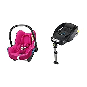 maxi cosi cabriofix group 0 car seat frequency pink with. Black Bedroom Furniture Sets. Home Design Ideas