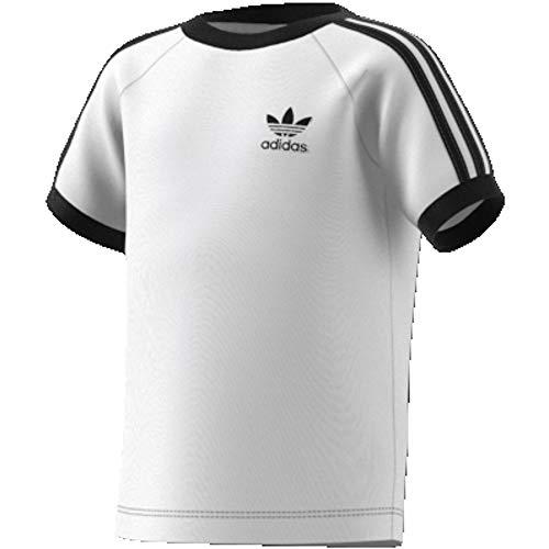adidas 3stripes Tee T-Shirts Unisex Bambini