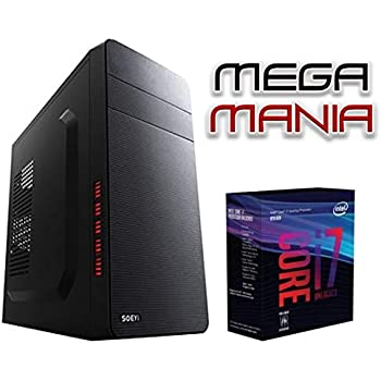 Megamania Ordenador Sobremesa Intel Core i7 up to 3,4Ghz x 4 ...