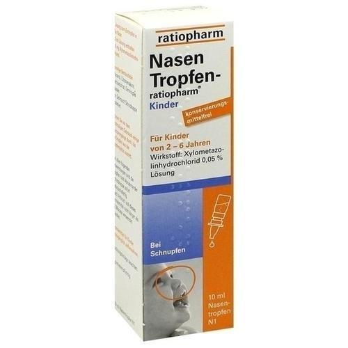 NasenTropfen-ratiopharm Kinder, 10 ml