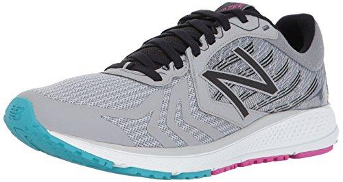 New Balance Vazee Pace V2, Zapatillas de Running para Mujer, Plateado (Silver Mink/Black/Poinsonberry), 38 EU