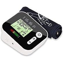 Leyeet Auto Digital Tipo de Brazo Monitor de presión Arterial Monitor de BP con esfigmomanómetro de