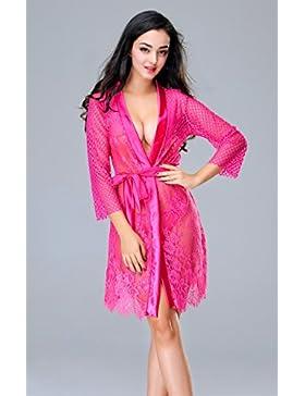 XYZHF**El sabor de ropa interior, delantales batas batas de baño terraza sacaleches kit sentido femenino de extrema...
