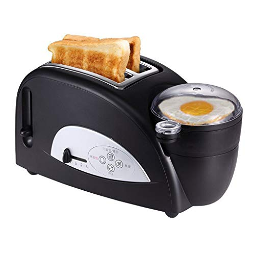 JM- Toaster , 2-Scheiben-Toaster mit LCD-Display, Edelstahl-Toaster mit herausnehmbarem Krümelschublade, extra breite Schlitze (Toaster-lcd)