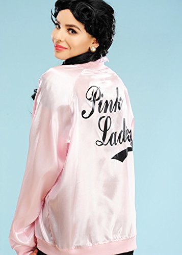 Magic Box Int. Damen Plus Size 50er Jahre Pink Jacke