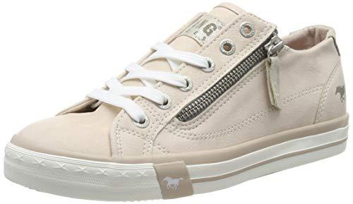MUSTANG Damen 1146-302-604 Sneaker, Orange (Apricot 604), 41 EU