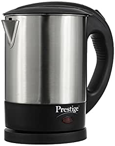 Prestige Pkss 1.0 1350-Watt Electric Kettle (Silver/Black)