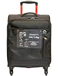 25c56b3a82 Eco-Lite Super Lightweight 4 Wheel Spinner Check-in Hold Luggage Suitcase  Travel Trolley