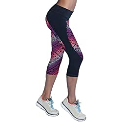 Sannysis Pantalones Mujer Deporte Yoga Pantalones Mallas para Mujer, Color (03, M)