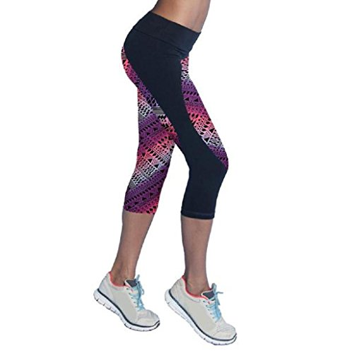 Sannysis Pantalones Mujer Deporte Yoga Pantalones