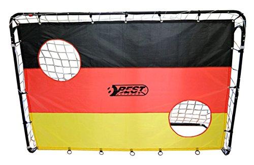 Best Sporting Fußballtor \'Deutschland\', Variante:Fußballtor inklusive Torwand