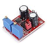 MagiDeal Ciclo Di Dovere Di Frequenza Ne555 Modulo Regolabile Generatore Di Segnale Ad Onda Quadra