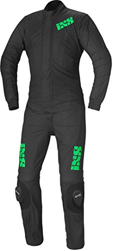 IXS WET RACE 3 Regenanzug Motorrad 2-teilig - schwarz