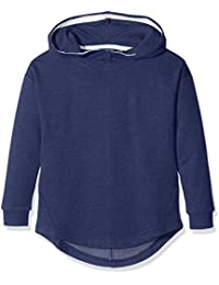 Tom Tailor Solid Sweatshirt with Hoody, Sweat-Shirt à Capuche Fille