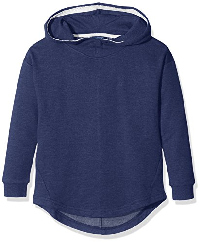 TOM TAILOR Kids Mädchen Kapuzenpullover Solid Sweatshirt with Hoody, Blau (Cosmos Blue 6814), 140 (Sweatshirt Hoody Dream)
