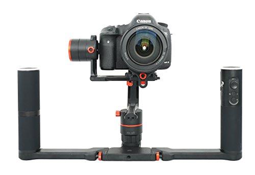 FeiyuTech Feiyu a2000 Cardán | Estabilizador de 3 ejes para DSLR / cámaras sin espejo | Gimbal Stabilizer 3-Axis Support | Fotografía de lapso de tiempo | Manija dual desmontable | Sony A7 Series, GH4, GH5 para Canon 5D y otras cámaras | Incluye funda de transporte | 2 años de garantía | Por FeiyuTech