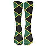 uytrgh Barber Tool and Flag Men Women Casual Athletic Stoking Crew Long Calf Socks (Long 50cm Colorful 2360 -