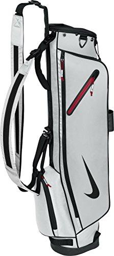 Nike Half Bag Carry - Tailles : Unique, Couleurs : Silver/Black/Gym Red
