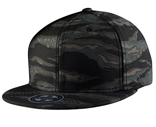 7757fecd7f4 Aivtalk - Gorra de Béisbol Unisex Camuflaje Hip Hop Snapback Sombrero Plano  Dance Hat Moda Accesorio