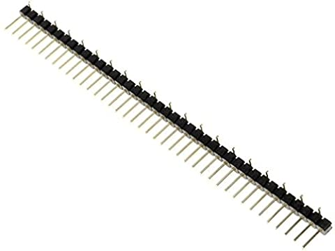 ZL301-40P Pin header pin strips male PIN40 vertical 2.54mm SMT 1x40