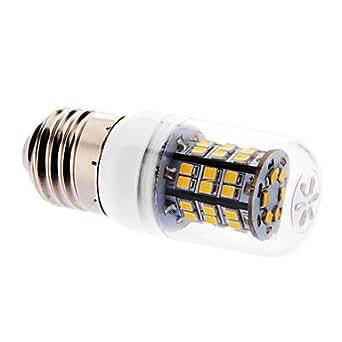 NEW E27 6W 46x2835SMD 520-550LM 3000K lumière blanche chaude Ampoule LED de maïs avec couvercle (220-240V)