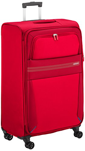 American Tourister Summer Voyager Valise 4 Roues, 79 cm, 112 L, Ribbon Red