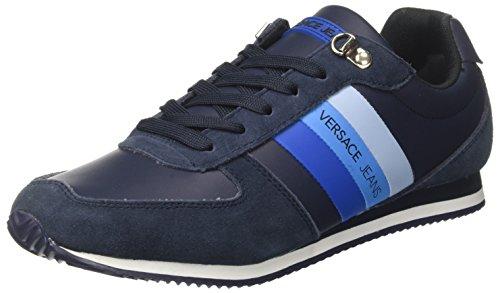 Versace Jeans Herren EE0YRBSA1_E70013 Sneaker, Blu (Blu Avio/Bluette), 40 EU