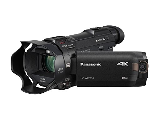 Panasonic HC-WXF991K 4K Ultra HD Camcorder with Wi-Fi, Built with Multi Scene Twin Camera (Black)
