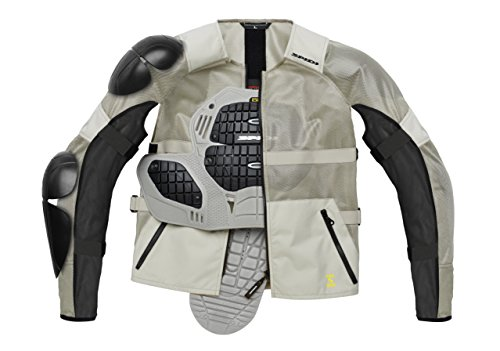 Spidi T177-341 Giacca in Tessuto Airtech Armor, Nero, Misura S