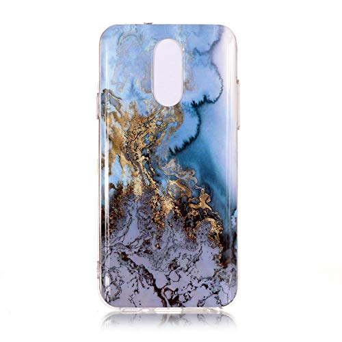 NEXCURIO LG Q7+ (Q7 Plus) / Q7 Hülle Silikon, Schutz Handy Hülle Handytasche HandyHülle Stoßfest Kratzfest Etui Schale Schutzhülle Weich Bumper Case Cover für LG Q7+ (Q7Plus) - NEYHU13131#8