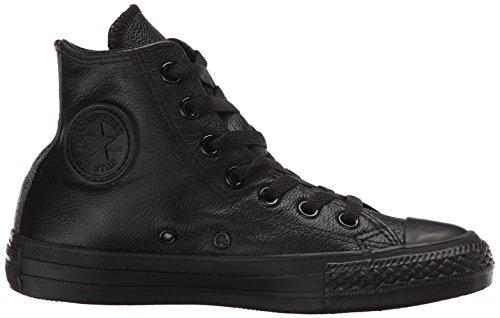 Converse - Chuck Taylor All Star Mono Hi - Sneakers Haute - Mixte Adulte Noir (8 Noir Mono)