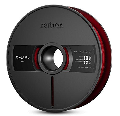 zort RAX 5902280822554ASA de Z Pro Filament, 1,75mm, 800g, rouge